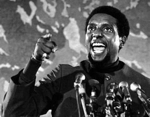 Former SNCC leader and civil rights activist, the late Kwame Ture