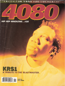 4080 Magazine - KRS-ONE Issue